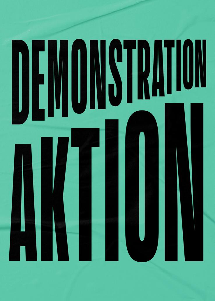 Demonstration/aktion